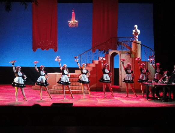 Dirty Rotten Scoundrels at Boston College Theatre